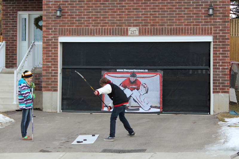 Garage Door Sports Screen St  Cloud Mn