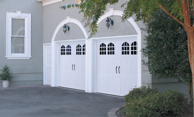 Amarr Classica White with Arched Windows