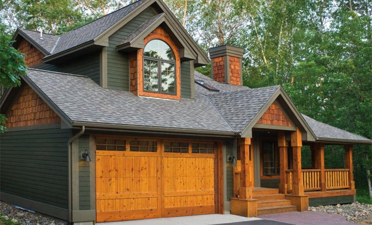 Wooden Cedar Mahogany Timber Garage Doors St Cloud Mn Adw