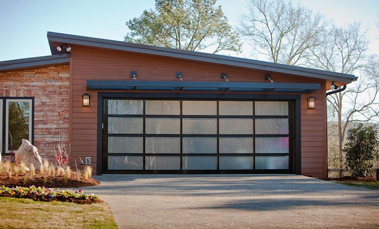 Aluminum Glass Modern Contemporary Garage Doors St Cloud Mn